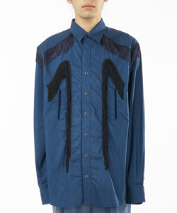 TYPEWRITER FRINGE SHIRT