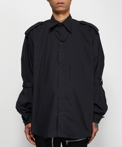 POPLIN COTTON BONDAGE SHIRT