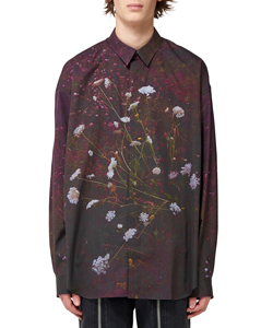 PHOTO PRINTED OVERSIZED SHIRT