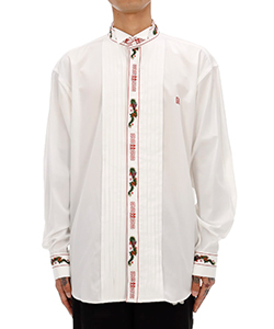 RA-MEN EMBROIDERY TUXEDO SHIRT