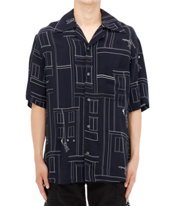 ALLOVER PAINTER HOLIDAY SHIRT