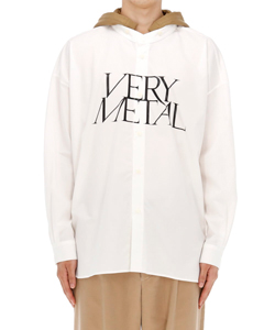 VERY METAL HOODY SHIRT