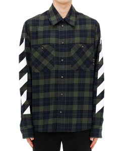 DIAG FLANNEL SHIRT