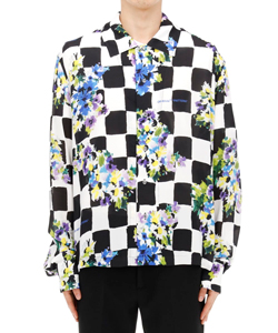CHECK FLOWERS CASUAL SHIRT