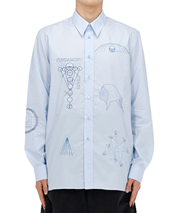 SHIRT WITH EMBROIDERED FRONT