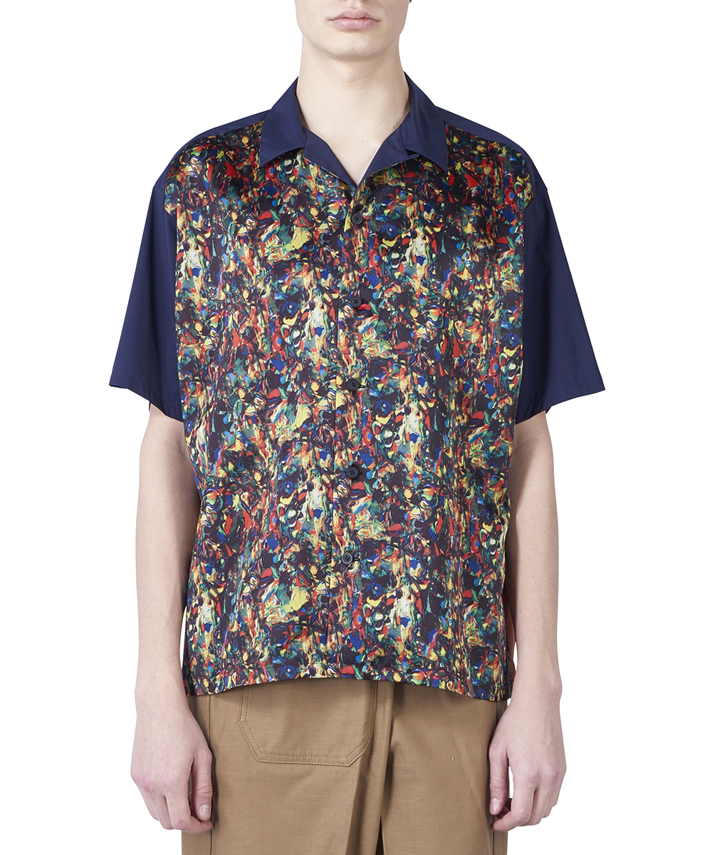 STRETCH TAFETTA SHIRT S/S