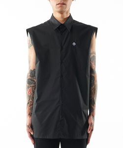 SLEEVELESS REGULAR FIT SHIRT