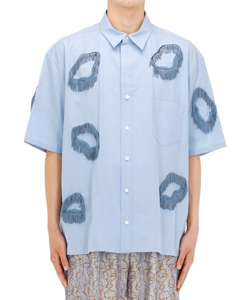 SOFT TYPEWRITER FRINGE S/S SHIRT