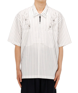 TYPEWRITER STRIPE S/S SHIRT