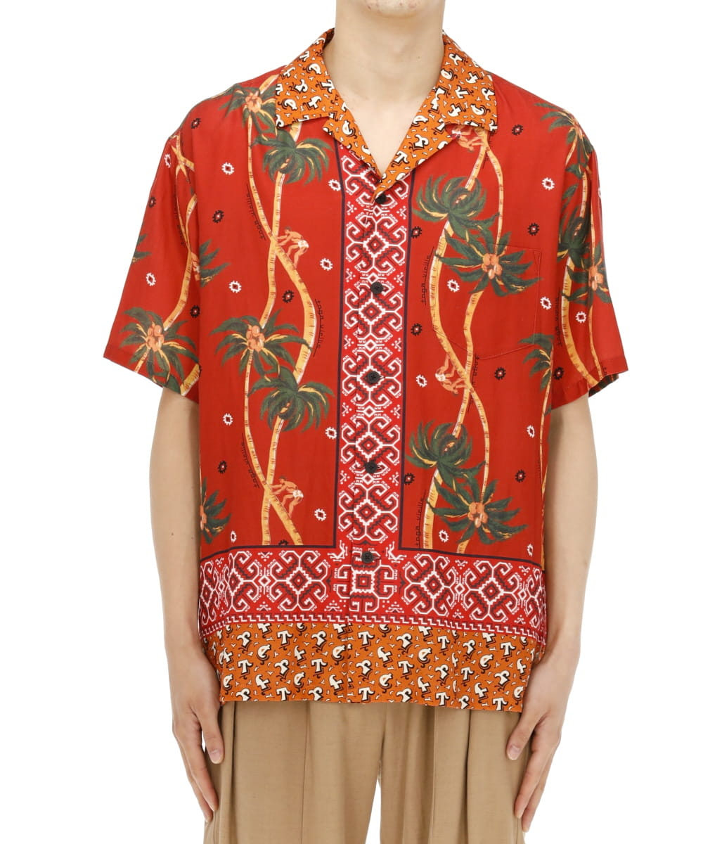 CUPRA COTTON PRINT S/S SHIRT