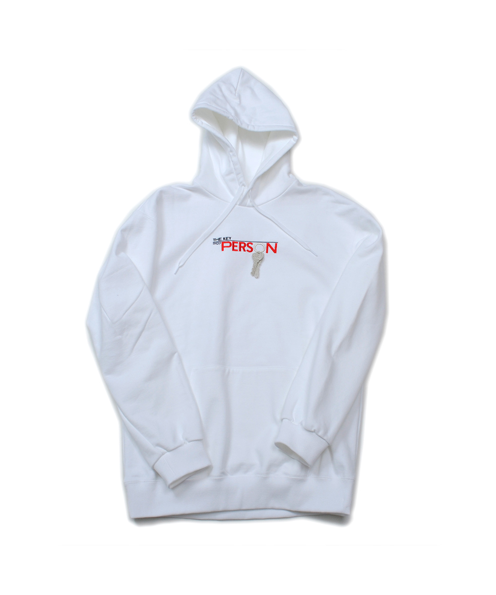 """KEY PERSON"" EMBROIDERY HOODIE"