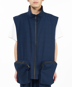 EASY CHECKED VEST