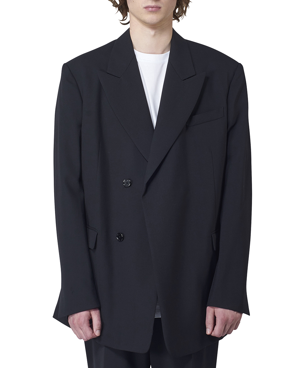 DOUBLE BREASTED FITTED BLAZER