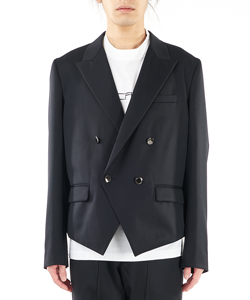 WATTEAU PLEATS SPENCER JACKET