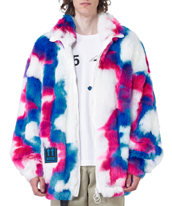 FAKE FUR ZIP ANORAK