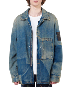 DENIM PATCH POCKET JKT