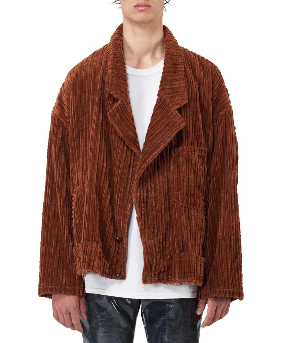 CORDUROY CUT-OFF JACKET