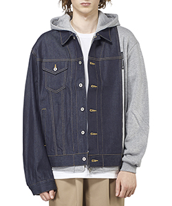 MIX DENIM BLOUSON