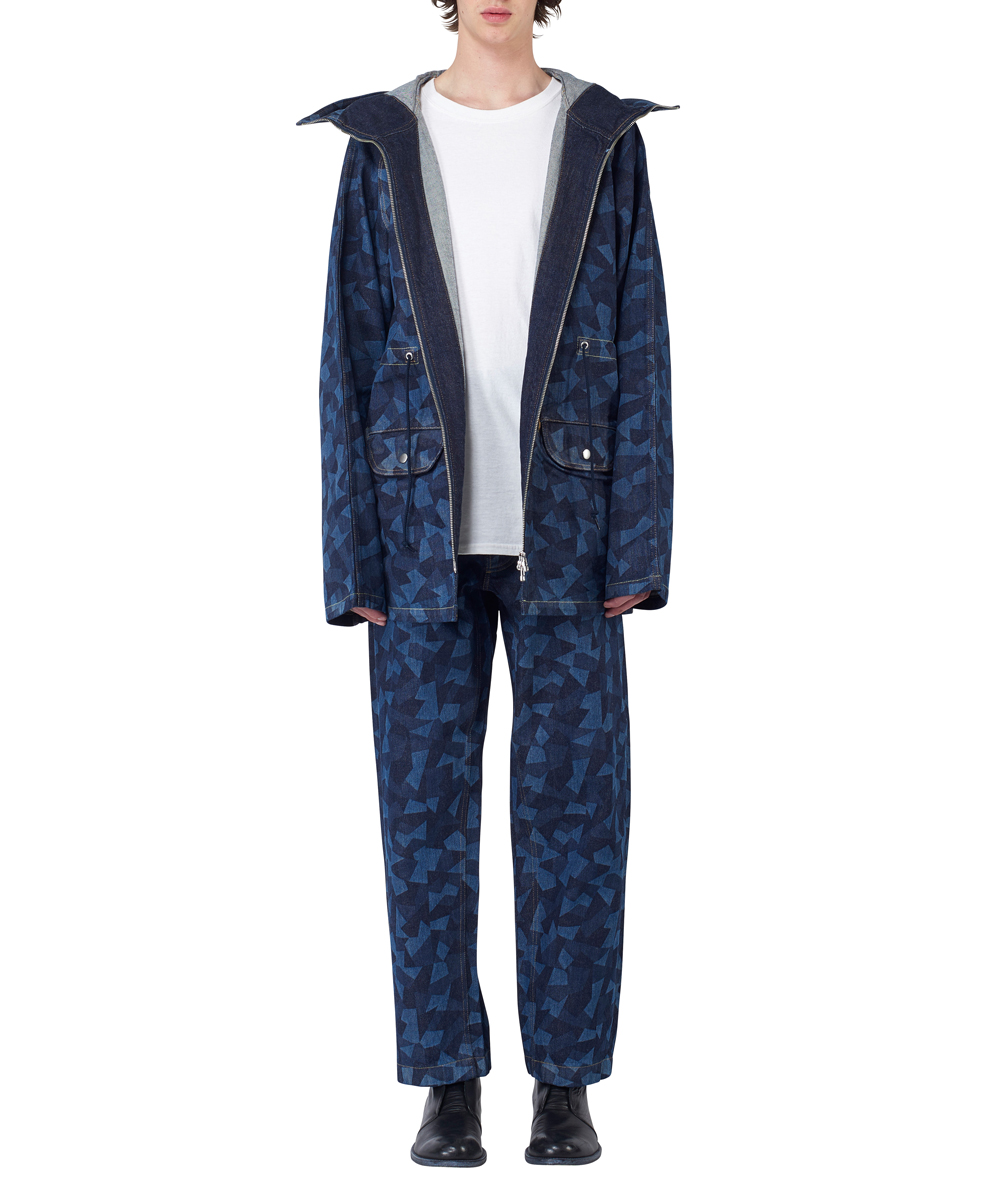 LASER PATCHWORK DENIM N3-B