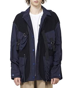 MIX CRYSTAL BLOUSON