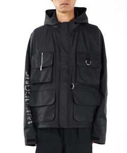 NYLON POCKETS PARKA JACKET