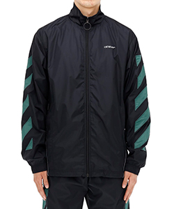 DIAG NYLON JACKET