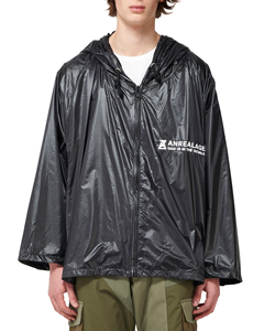 ZOOM NYLON HOODED PARKA