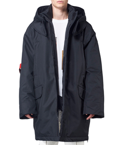 OVERS WADDED SKI JACKET WITH ARM STRAPS