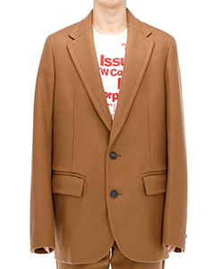 CASHMERE WOOL MELTON JACKET
