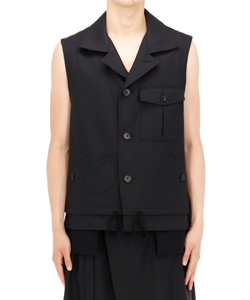 SLEEVELESS WORK JACKET