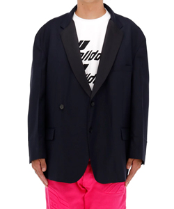 WD NAVY OVERSIZED JACKET