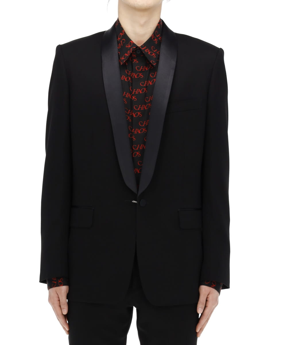 TUXEDO JACKET WITH EARRING
