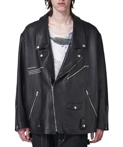 MARIONETTE LEATHER RIDERS JACKET