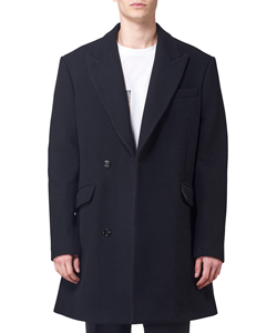 DOUBLE BRASTED SHORT COAT