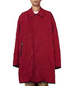 CROCODILE CLOTH COAT