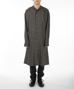 HOODY SHIRT COAT