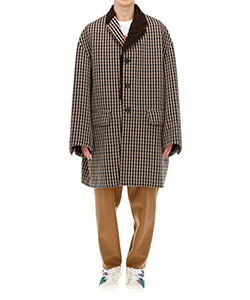 DOUBLE FACE CHECK COAT