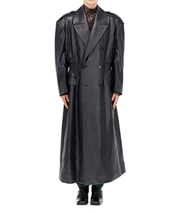 WAIST GATHERED COAT
