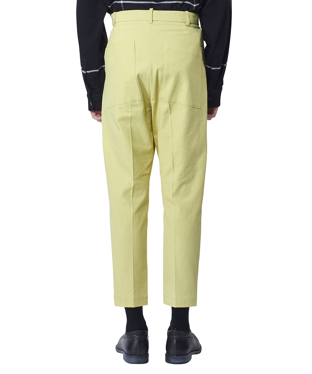 CROPPED LOW CROTCH TROUSERS
