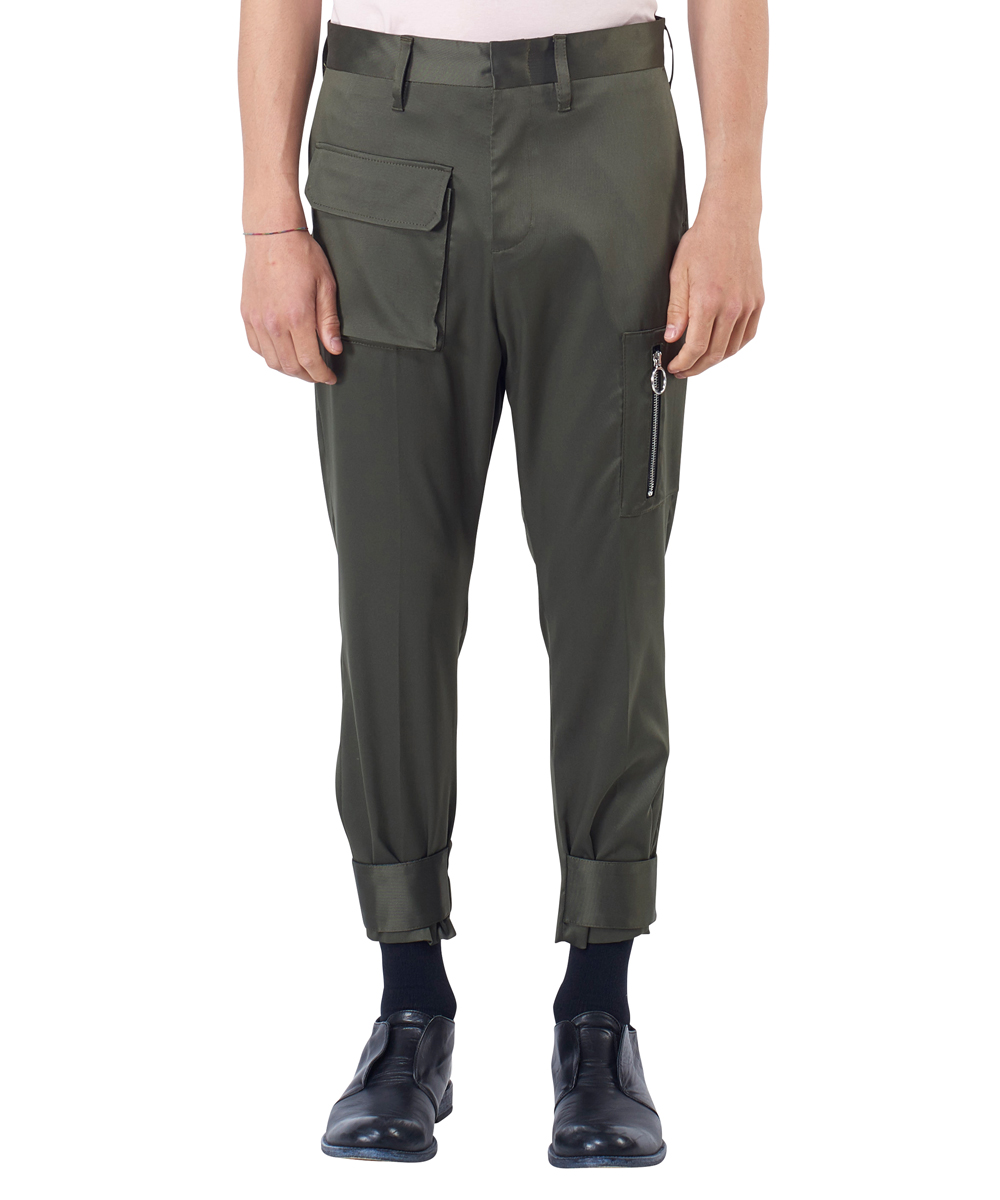 VELCRO CROPPED PANTS