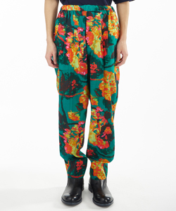 CUPRA COTTON PRINT PANTS