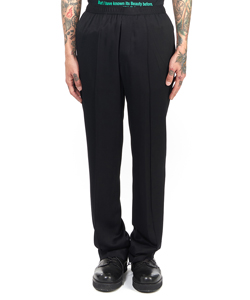 ELASTICATED WAISTBAND TROUSERS