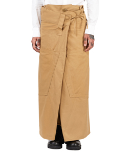 WAIST OF CHINO PANTS