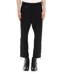 RING ZIP CROPPED PANTS