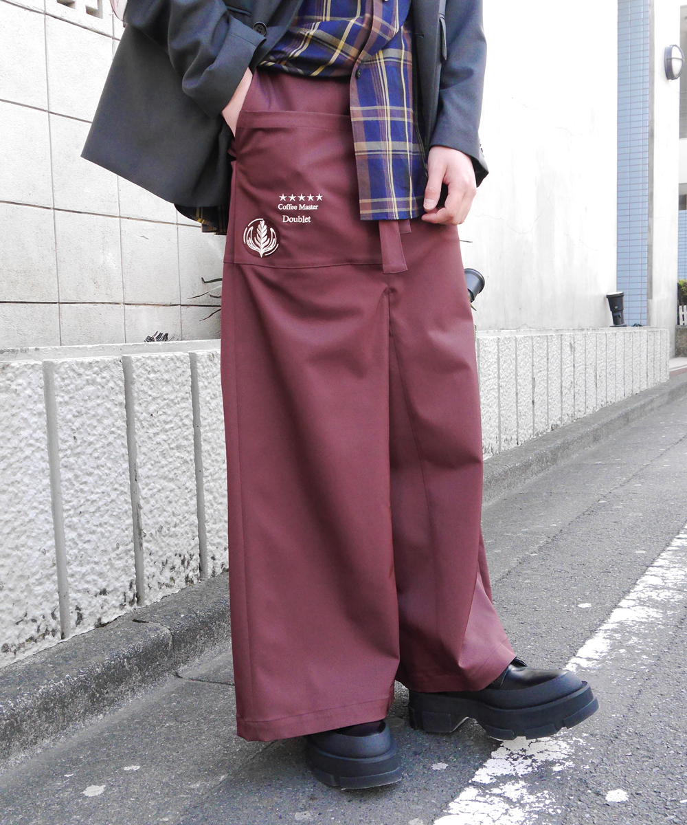 GALCONS APRON TROUSERS