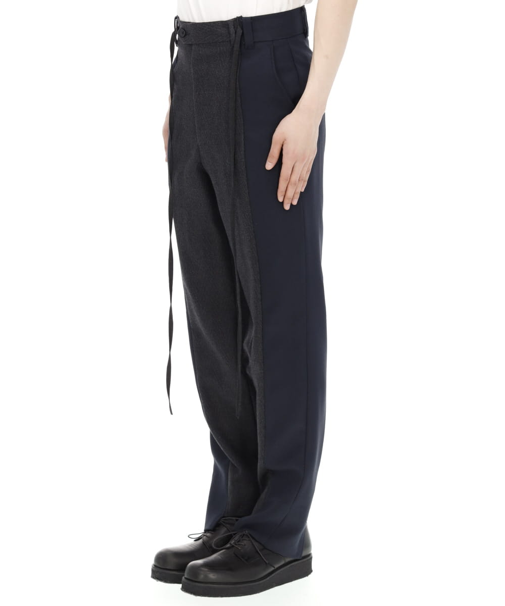 DOCKING SLIM SLACKS PANTS-2