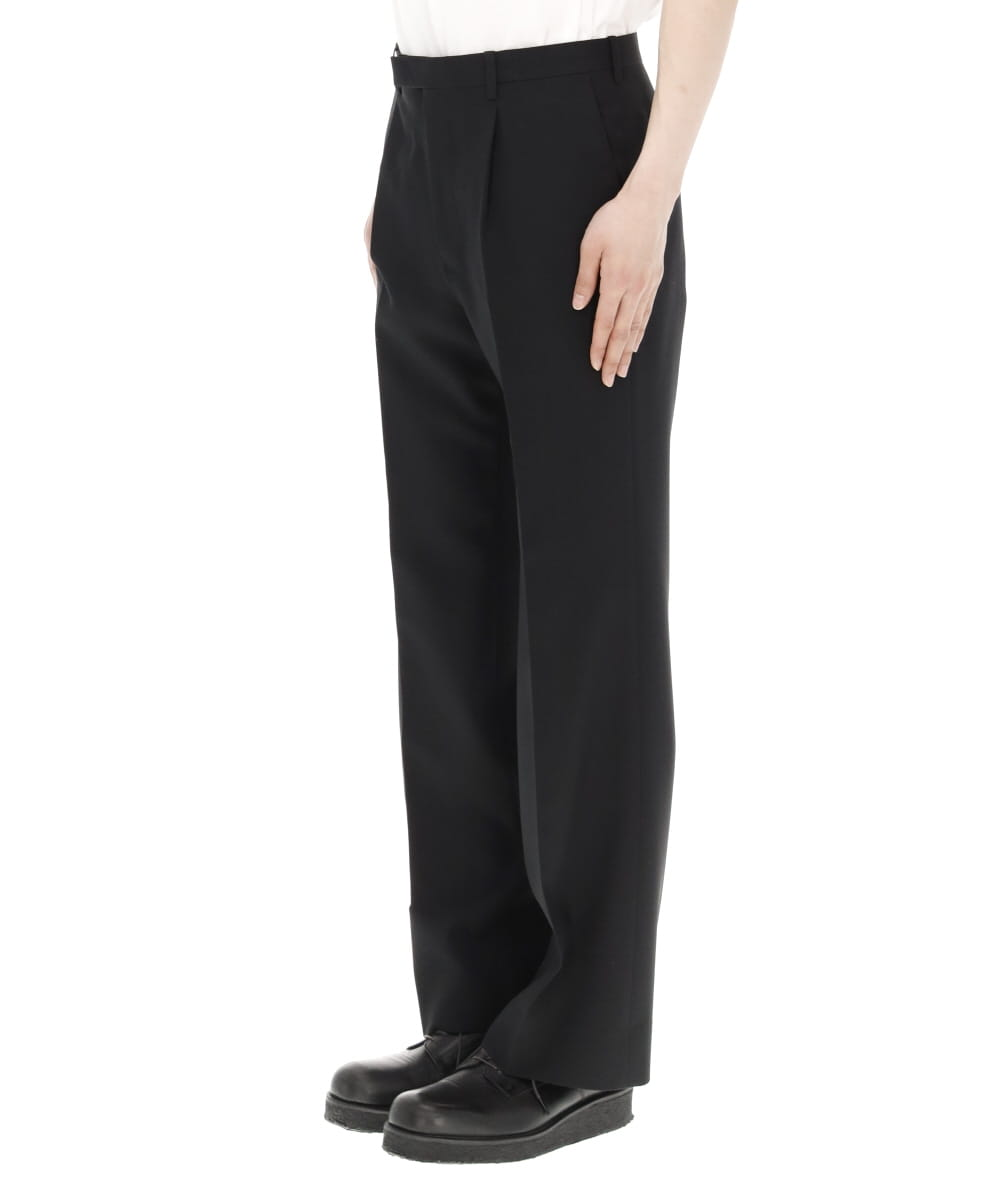 1TUCK SLIM FLARE SLACKS