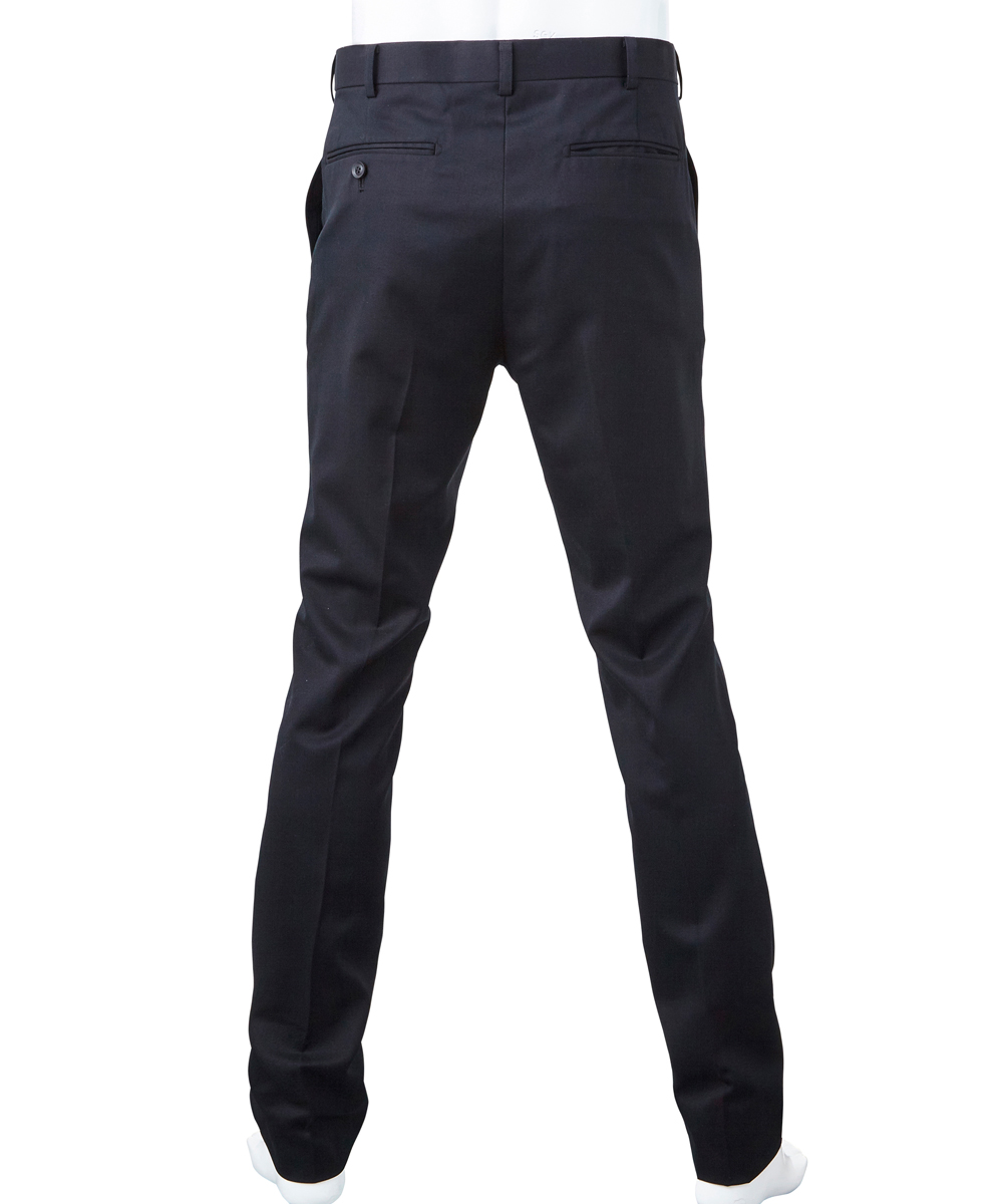 WOOL SKINNY TROUSERS