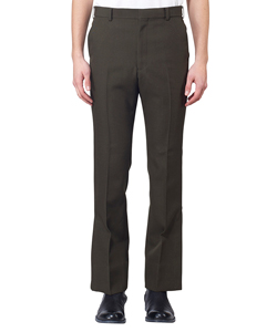 MILITARY WOOL VENTED TROUSERS