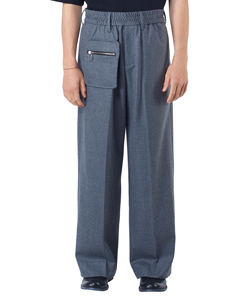ZIP POCKET STRAIGHT PANTS